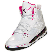 Girls' Grade School Flight 45 High Basketball Shoes