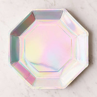 Ginger Ray Iridescent Paper Plate Set | Urban Outfitters
