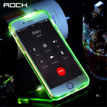 ROCK Led Flash Phone Case for iphone 7 & iPhone 7 plus