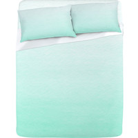 Social Proper Mint Ombre Sheet Set