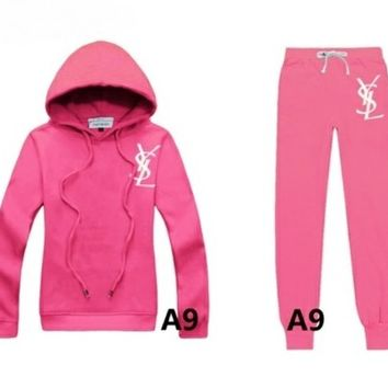 YSL pink tracksuit by Luxury store
