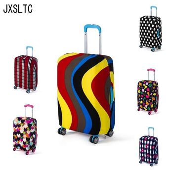Fashion Luggage Protective Case Elastic Dust Cover Travel Accessories Suitcase Application Case 18 * 30-inch Baggage Tag