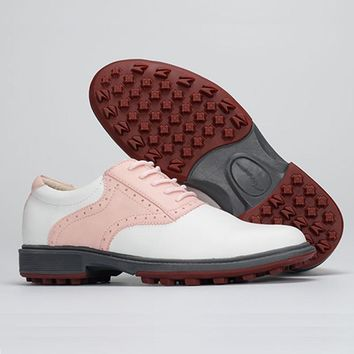 girl golf shoes women golf sport shoes waterproof breathable lady pink shoes tennis girl walk shoes top quality