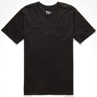 Nike Sb Dri-Fit Mens Pocket Tee Black  In Sizes