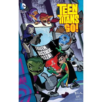 Teen Titans Go Truth Justice And Pizza TP