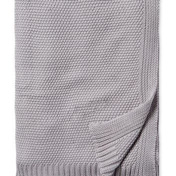 Melange Home Hampton Throw - Grey