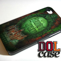 The Haunted Mansion iPhone Case Cover|iPhone 4s|iPhone 5s|iPhone 5c|iPhone 6|iPhone 6 Plus|Free Shipping| Delta 407
