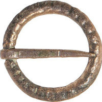 VIKING BRONZE BROOCH 850-1050 A.D.