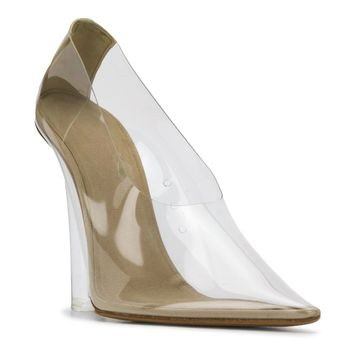 Transparent Platform Heel Pumps by YEEZY