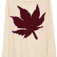Maple Leaf Sweater Pull Over