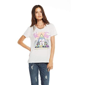 Chaser Brand Womens Pink Floyd All Icons T-Shirt