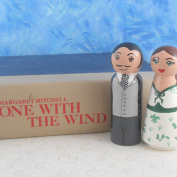 In Stock: Gone with the Wind Peg People