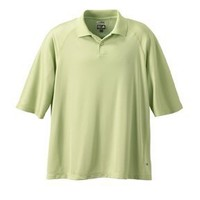 adidas Golf Men's ClimaCool Mesh Polo, Apple, S