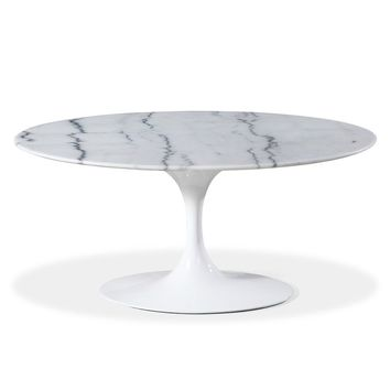 Tulip Coffee Table - Oval - Reproduction