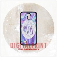 5SOS 5 Second Of Summer Logo Purple For Samsung Galaxy S4 Case Cover