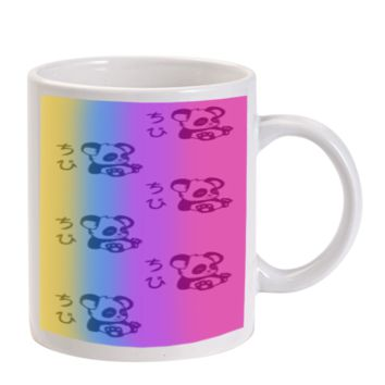 Gift Mugs | Rainbow Panda Ceramic Coffee Mugs