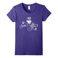 Tea-riffic Funny Pun Shirt Tea Party Lover Gifts