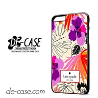 Kate Spade Floral Pattern DEAL-6096 Apple Phonecase Cover For Iphone 6/ 6S Plus