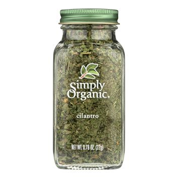 Simply Organic Cilantro - Case Of 6 - 0.78 Oz.