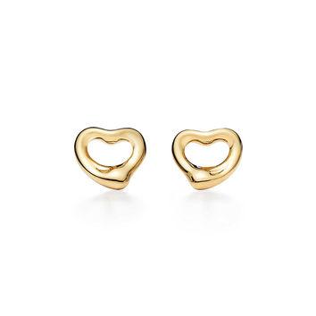 Tiffany & Co. - Elsa Peretti®:Open Heart Earrings