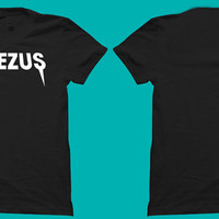 Kanye West Yeezus in Words Next Level Brand High Quality Graphic Tee Shirt 100% Ringspun - Hip-Hop - Rap - R&B - concert - music