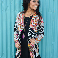 Tuscon Tribal Cardigan