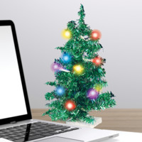 Deck Your Desk - LED USB Mini Christmas Tree