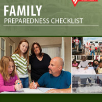 Family Preparedness Checklist 24-Pages