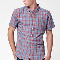 Brixton Arthur Plaid Short Sleeve Button Up Shirt at PacSun.com