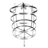 96 Pairs Silver Color Rotating Earring Holder Organizer Display Stand