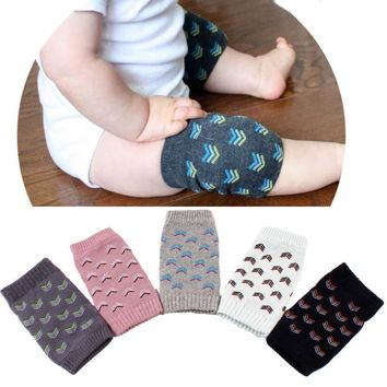 Children warm legs set Baby Crawling Anti-Slip Knee Compression Sleeve Unisex Kneecap Coverage
