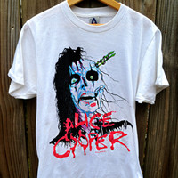 Vintage Alice Cooper Tour 1987-88 Raise Your Fist and Yell Tshirt