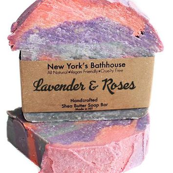 Lavender & Roses Soap Bar