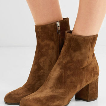 Gianvito Rossi - Margaux 65 suede ankle boots