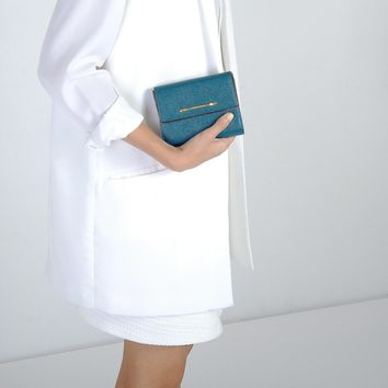 Small Work Wallet - Teal - Wallets - Bags | CHARLES & KEITH