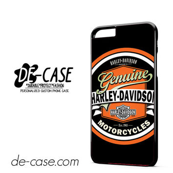 Harley Davidson Vintage DEAL-5056 Apple Phonecase Cover For Iphone 6/ 6S Plus