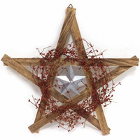 Red Shed 24 in. Wood Star Wall Decor at Tractor Supply Co.