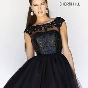 Sherri Hill 21217 Prom / Ball Dress - Spring 2014 Collection Size 8 US 10/12 UK