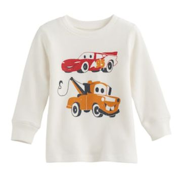 Disney / Pixar Cars 3 Baby Boy Lightning McQueen & Mater Thermal Tee by Jumping Beans® | null