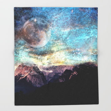Untitled Throw Blanket by J.Lauren