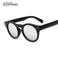 NEW Unique Round Circle Sunglasses Women Men Vintage Keyhole Glasses Oculos De Sol Retro Sun glass women colour European Style