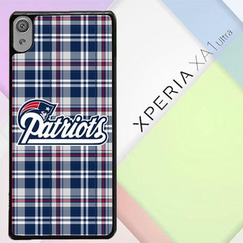 New England Patriots W4879 Sony Xperia XA1 Ultra Case