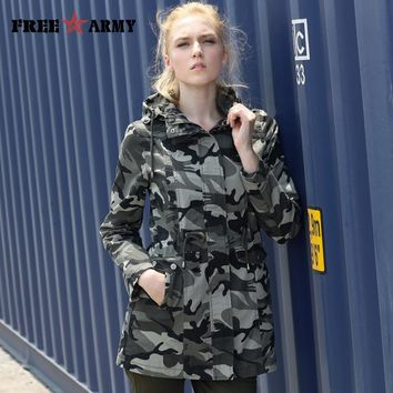 Trendy New Fashion 2017 Spring  Camouflage Jacket Military Pocket Women Jacket With Zipper Slim Casual Brand Women's Coats GS-8610 AT_94_13