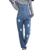 Denim Dungarees for Womens | Skylinewears USA