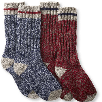 Adults' Merino Wool Ragg Socks, 12