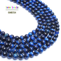 A++ Natural Stone Beads Blue Tiger Eye Round Beads For Jewelry Making 15inch Pick Size 6.8.10.12mm Making Bracelet F00125-in Beads from Jewelry & Accessories on Aliexpress.com | Alibaba Group