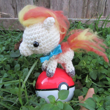 Made to Order - Chibi Pokemon Amigurumi - Ponyta