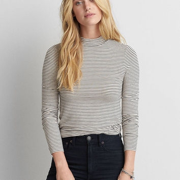 AEO Soft & Sexy Turtleneck , Black