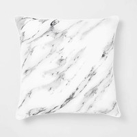 Metallic Marble Pillow