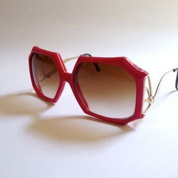 Vintage 1970's Oversized Sunglasses